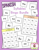 Bingo: Reading Syllables BUNDLE (Spanish)