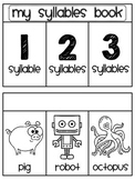 Syllables Sorting Book