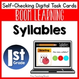 Syllables Boom Cards