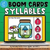 Syllables Boom Cards / Digital Task Cards / Distance Learning