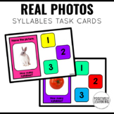Syllables Boom Cards with Real Photos