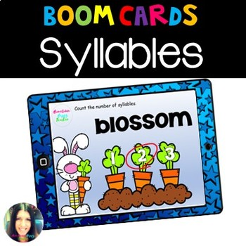 Syllables Boom Learning Cards