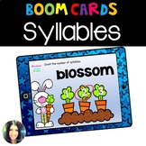Syllables- Boom Cards™ Distance Learning