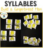 Syllables Build a Gingerbread Man Puzzles