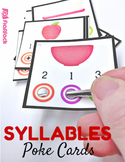 Syllables Bull's Eye Poke Game