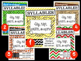 Syllables Bundle: Differentiated Phonological Awareness Ac