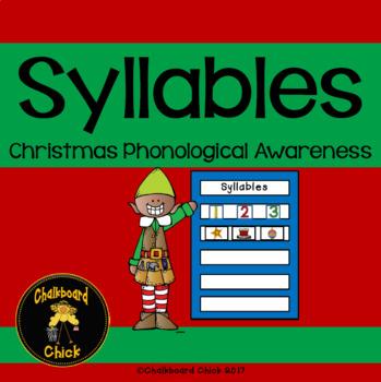 Syllables: Christmas Phonological Awareness