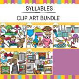 Syllables Clip Art Bundle