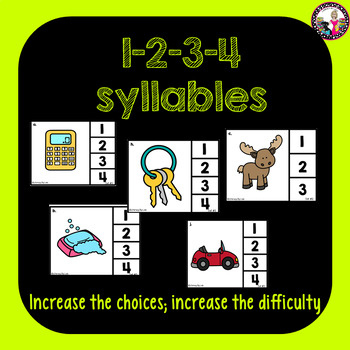 Syllables! Clip it cards!