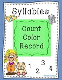 Syllables: Count, Color, Record