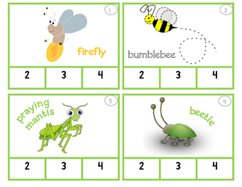 Syllables Count!!  Insect Set