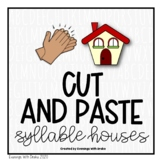 Syllables Cut and Paste Printables