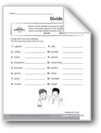 Syllables: Dividing Words