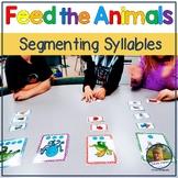 Segmenting Syllables Sort Game for Phonemic Awareness Feed