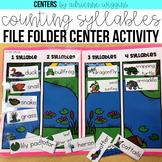 Syllables File Folder Center