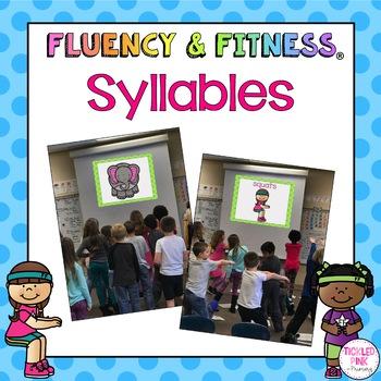 Syllables Fluency & Fitness Brain Breaks