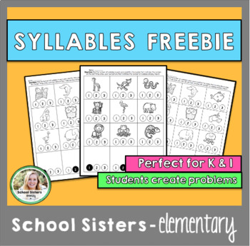 Syllables Freebie