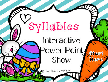 Syllables Interactive Power Point