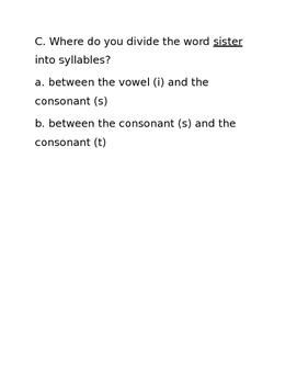 Syllables - Journeys Unit 5, Week 23