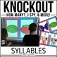 Syllables Game | KNOCKOUT | Distance Learning