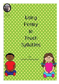 Teaching Syllables Using Poetry Lesson PLans