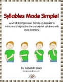 Syllables Made Simple: Teach Syllables in 3 Progressive, Hands-on Lessons