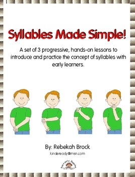 Syllables Made Simple: Teach Syllables in 3 Progressive, H