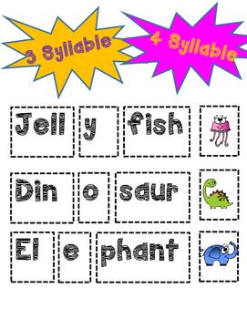 Syllables Mini Bundle