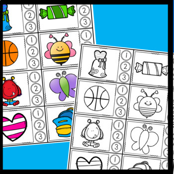 Syllables- Mystery Picture, Game, and Sort
