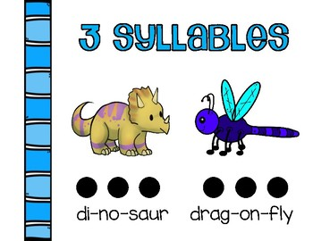 Syllables Packet