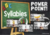Syllables Powerpoint