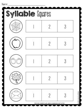 Let's Make Sense of Syllables