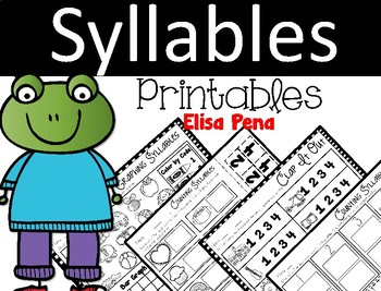 Syllables Printables