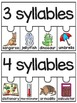 Syllables Puzzle Center Activities