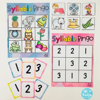 Syllables Resource Package