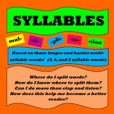 Syllables--Rules and Practice for Multisyllabic Words
