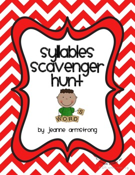 Syllables Scavenger Hunt