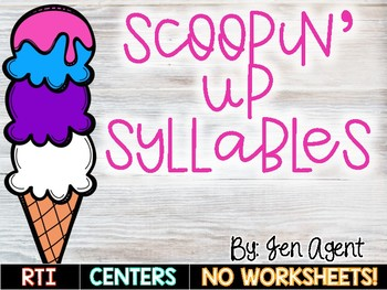 Syllables {Scoopin' up Syllables}