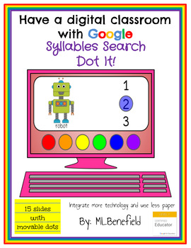 Syllables Search -Dot It! (in Google: Digital and Interactive)