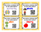 Syllables Task Cards with QR Codes