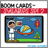 Syllables Set 2 BOOM CARDS
