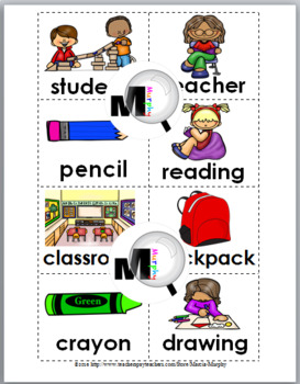Syllables Sort - Back to School Literacy