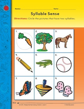 Syllables--Syllable Sense Literacy Center