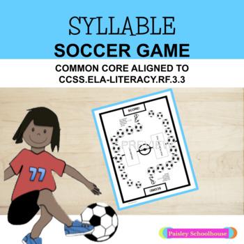 Syllables - Syllable Soccer Game