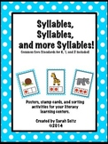 Syllables, Syllables, and more Syllables!