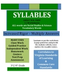 Syllables - Test Prep - VA SOL & Common Core