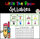 Syllables - Write the Room
