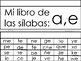 Syllables a,e Flip Book  In Spanish