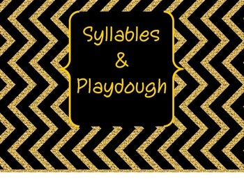 Syllables and Playdough