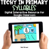 Syllables for Google Classroom